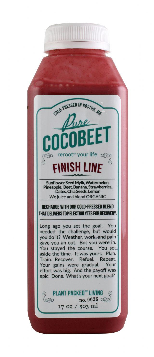 Cocobeet: CocoBeet FinishLine Front
