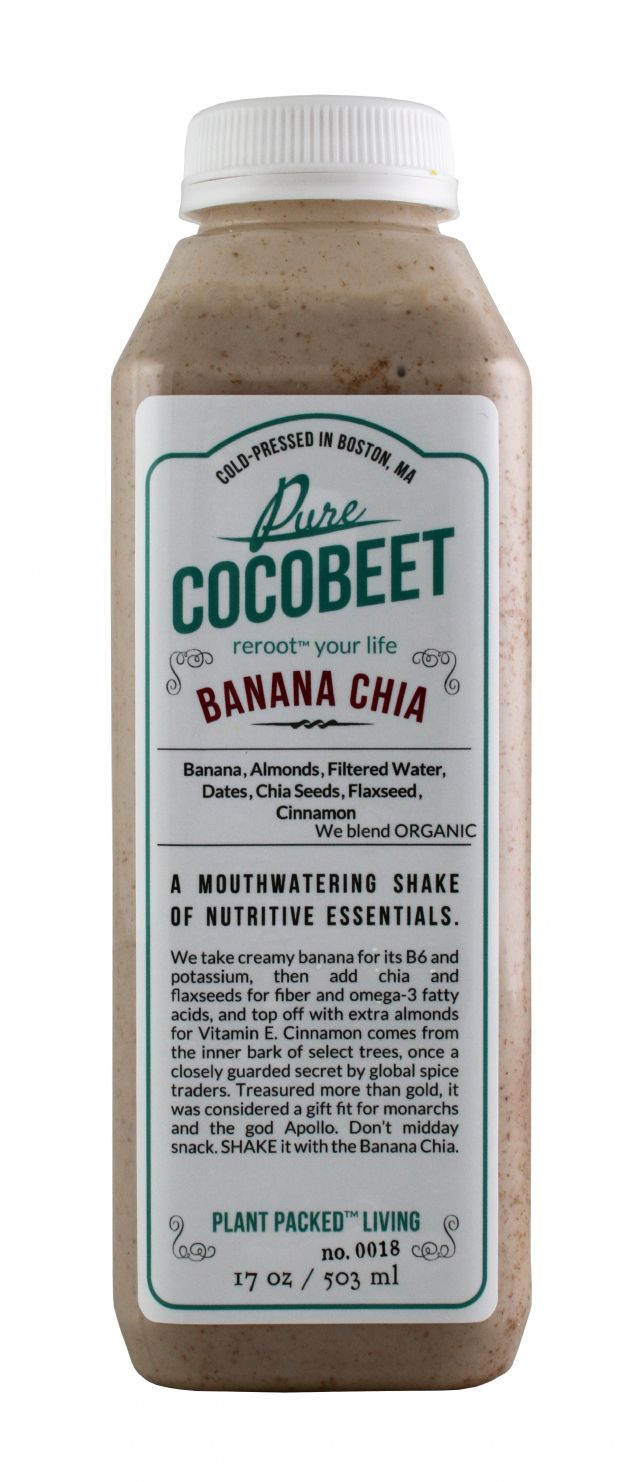 Cocobeet: CocoBeet BananaChia Front