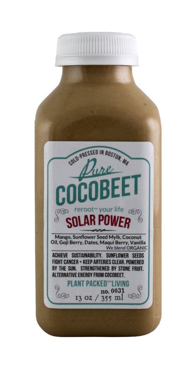 Cocobeet: CocoBeet SolarPower Front