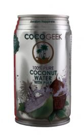 100% Pure Coconut Water with Pulp