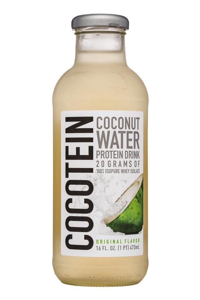 Cocotein: Cocotein-16oz-CocoWater-Original-Front