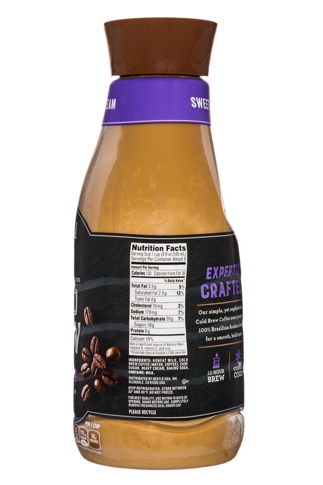 Coffee-mate Natural Bliss: Nestle-CoffeeMate-26oz-ColdBrew-SweetCream-Facts