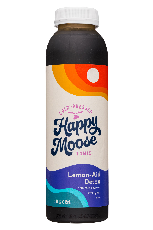 Lemon-Aid Detox (activated charcoal, lemongrass, aloe)