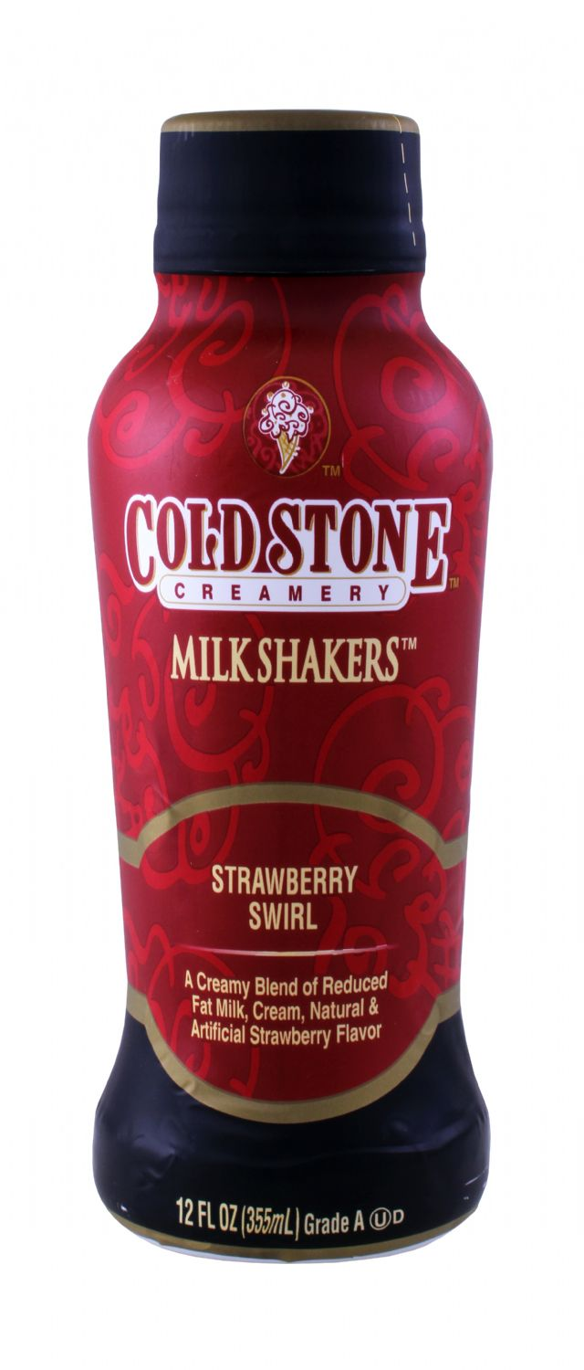 Cold Stone Creamery Milk Shakers: ColdStone Strawberry Front