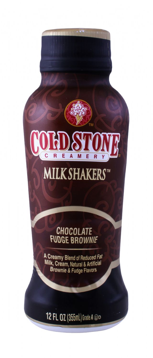 Cold Stone Creamery Milk Shakers: ColdStone Chocolate Front