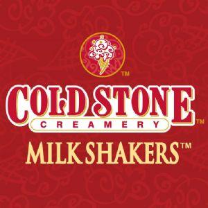 Cold Stone Creamery Milk Shakers