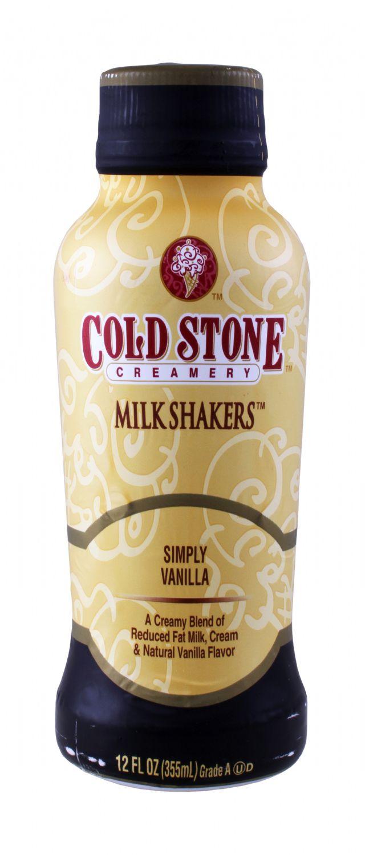 Cold Stone Creamery Milk Shakers: ColdStone Vanilla Front