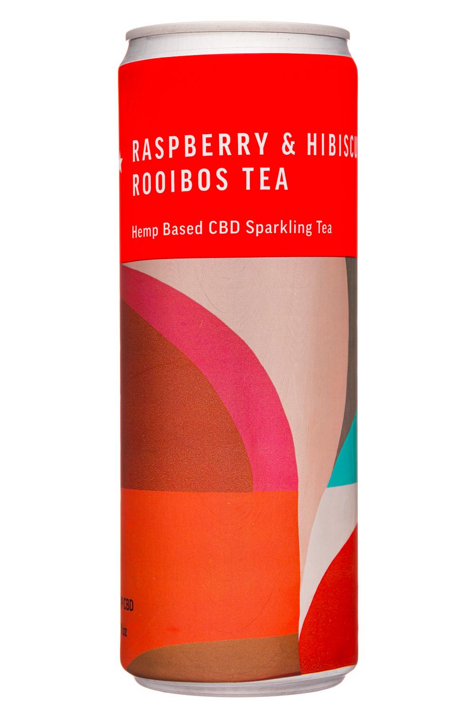 Sparkling Tea: Raspberry & Hibiscus Rooibos Tea