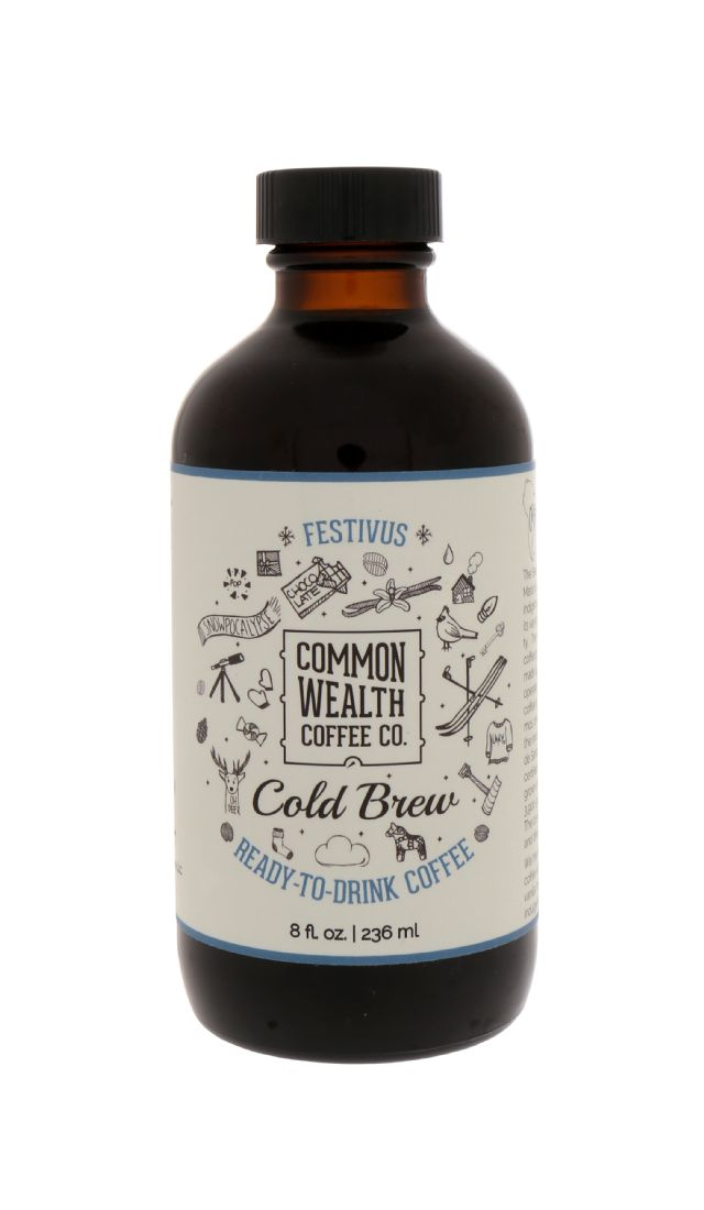 Commonwealth Cold Brew: CommonWealth Festivus Front