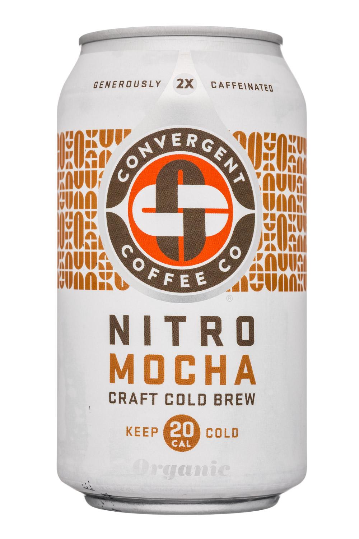 Convergent Coffee: ConvergentCoffeeCo-12oz-NitroColdBrew-Mocha-Front