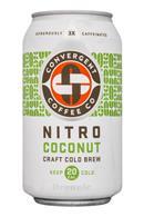 Convergent Coffee: ConvergentCoffeeCo-12oz-NitroColdBrew-Coconut-Front