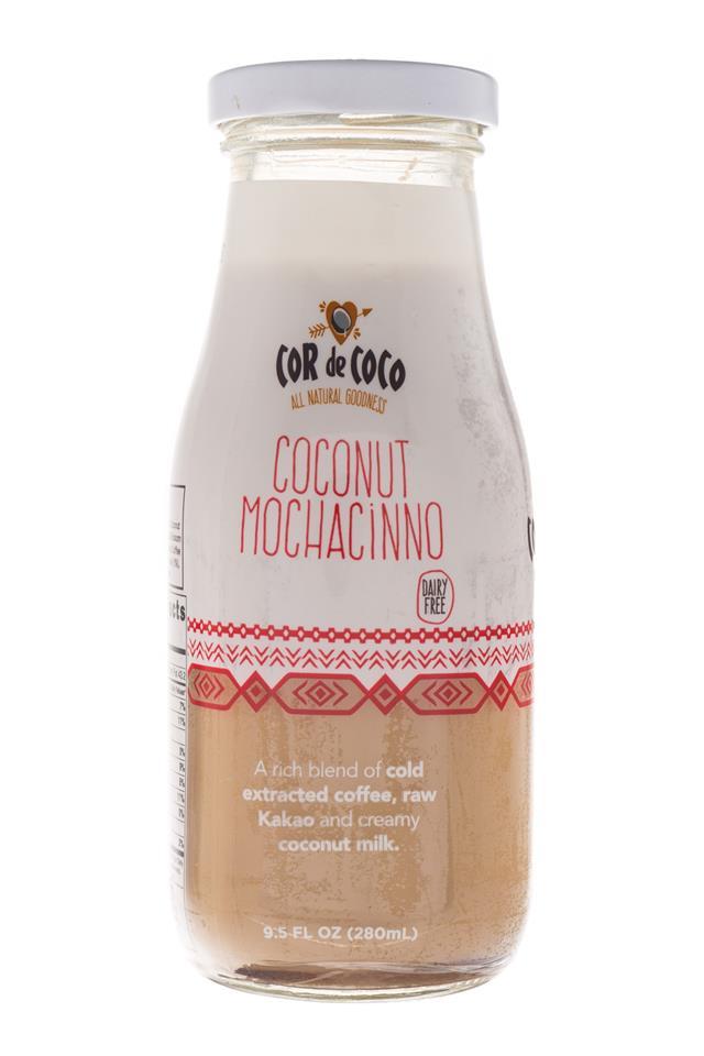 Cor de Coco Lattes: CorDeCoco-10oz-CoconutMochacinno-Front