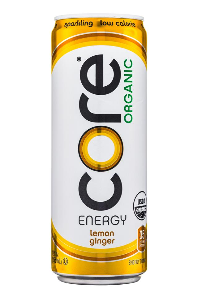Core Organic: Core-Organic-Energy-LemonGinger-Front