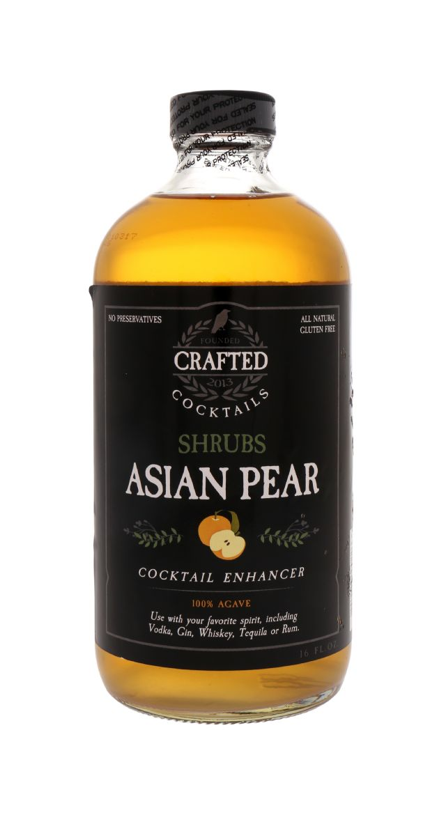 Crafted Cocktails: Shrubs AsianPear Front