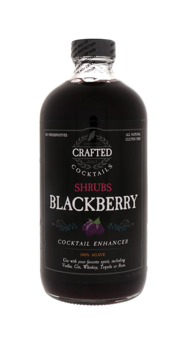 Crafted Cocktails: Shrubs Blackberry Front