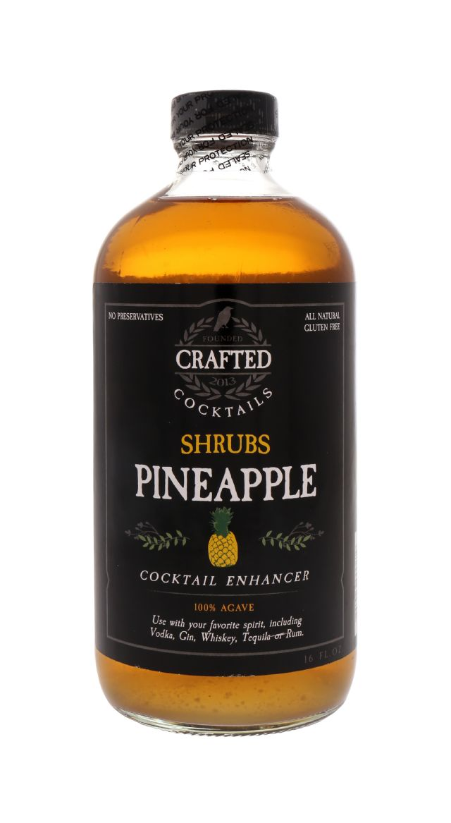 Crafted Cocktails: Shrubs Pineapple Front