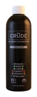 Crude: Crude Spinach Front