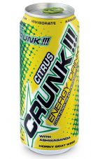 Crunk Energy Drink: CRUNK!!! CITRUS