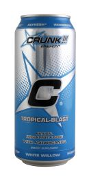 Crunk Energy Drink: Crunk Tropical Front