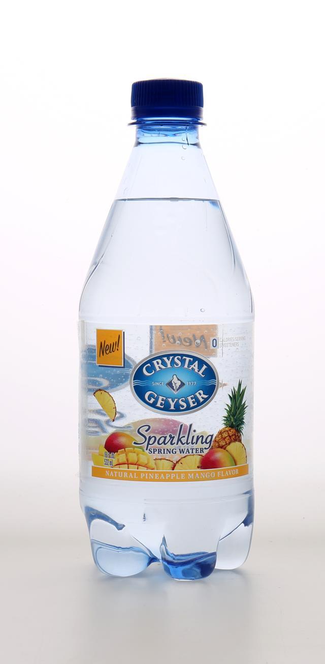 Crystal Geyser Sparkling Water: CrystalGeyser SparklingPineappleMango Front