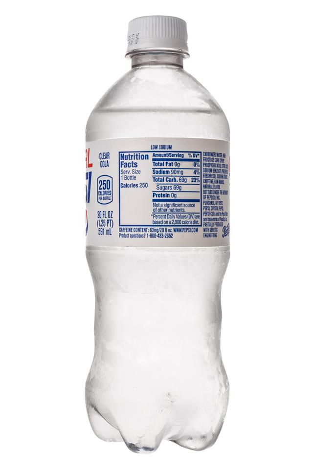Crystal Pepsi: Pepsi-Crystal-Facts