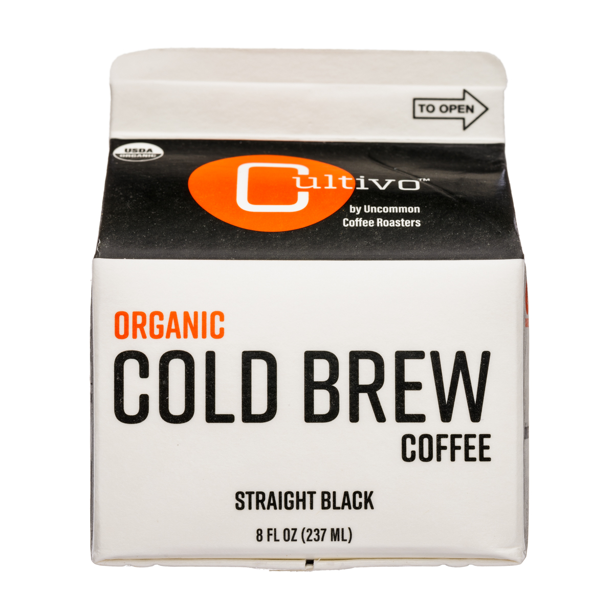 Organic Cold Brew Coffee - Straight Black