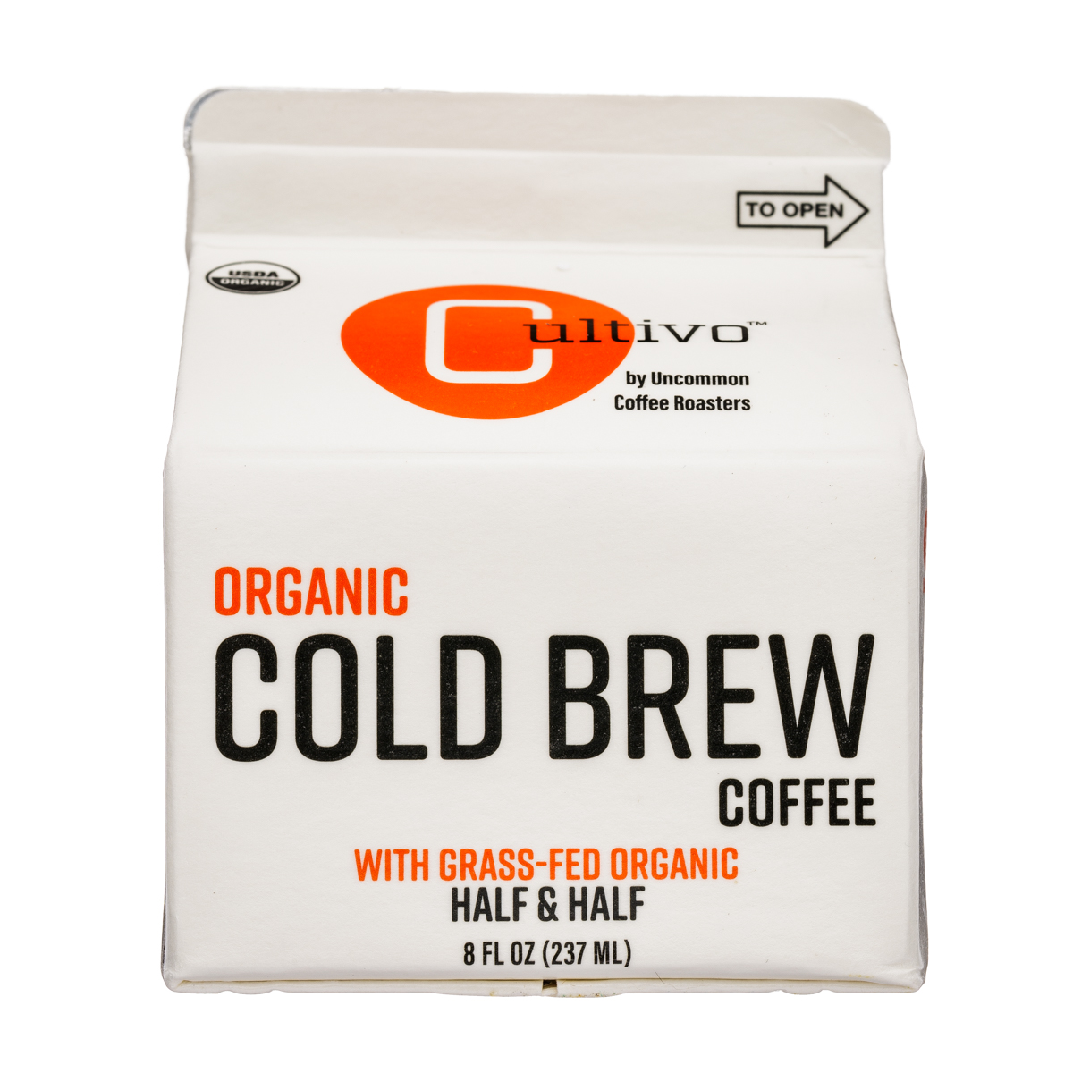 Organic Cold Brew Coffee - Half & Half