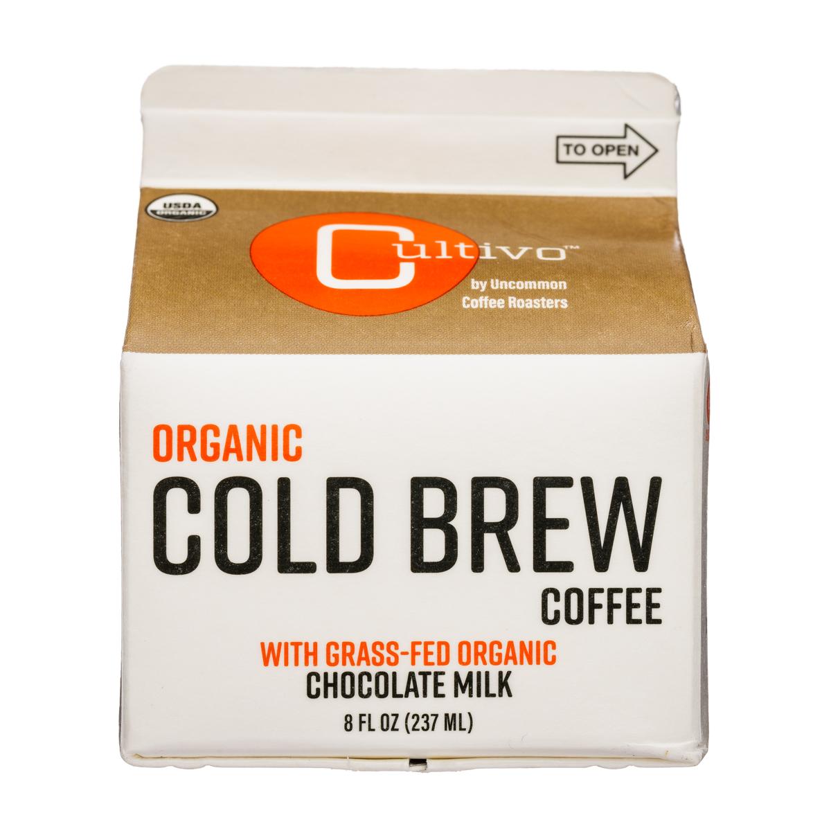 Organic Cold Brew Coffee - Chocolate Milk