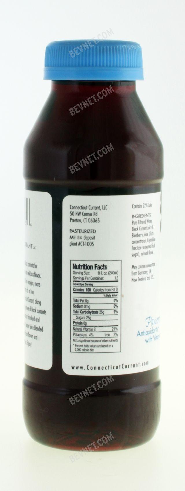 Currant Affair Black Currant Juice: