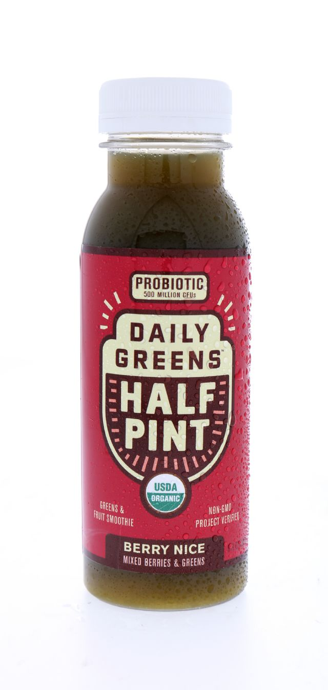 Daily Greens Half Pint: DailyGreens BerryNice Front