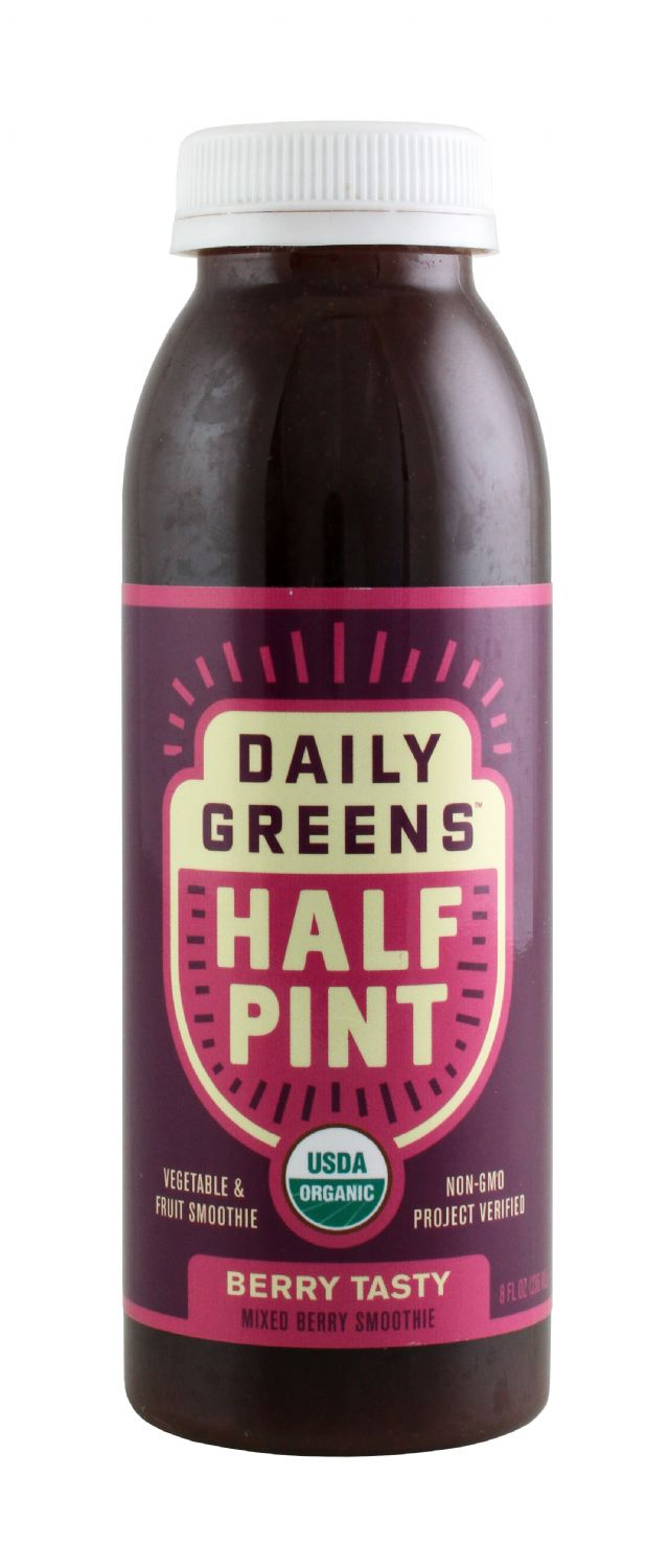 Daily Greens Half Pint: DailyGreen BerrTasty Front