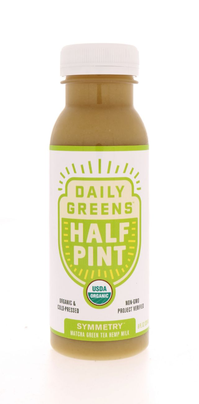 Daily Greens Half Pint: DailyGreens Symmetry Front