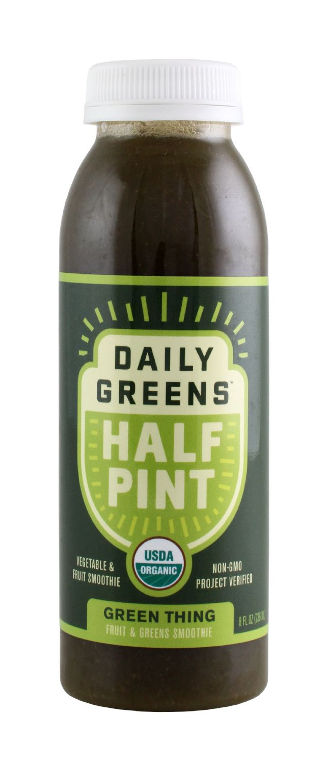 Daily Greens Half Pint: DailyGreen GreenThing Front