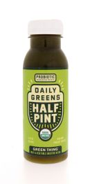 Daily Greens Half Pint: DailyGreens GreenThing Front