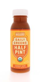 Daily Greens Half Pint: DailyGreens CarrotKick Front