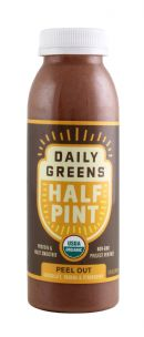Daily Greens Half Pint: DailyGreen PeelOut Front