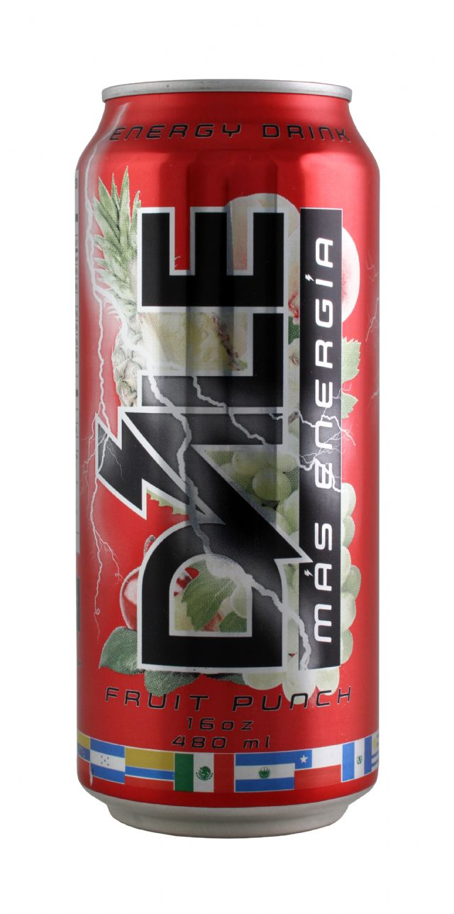 Dále Energy: Dale FruitPunch Front