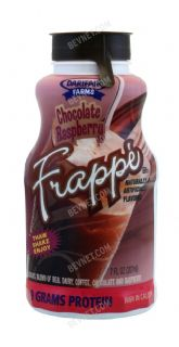 Chocolate Raspberry Frappe