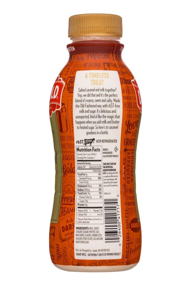 Darigold Milk: Darigold-16oz-SaltedCaramelMilk-Facts