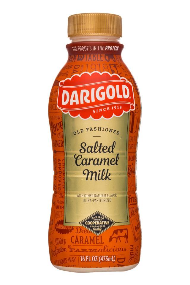 Darigold Milk: Darigold-16oz-SaltedCaramelMilk-Front