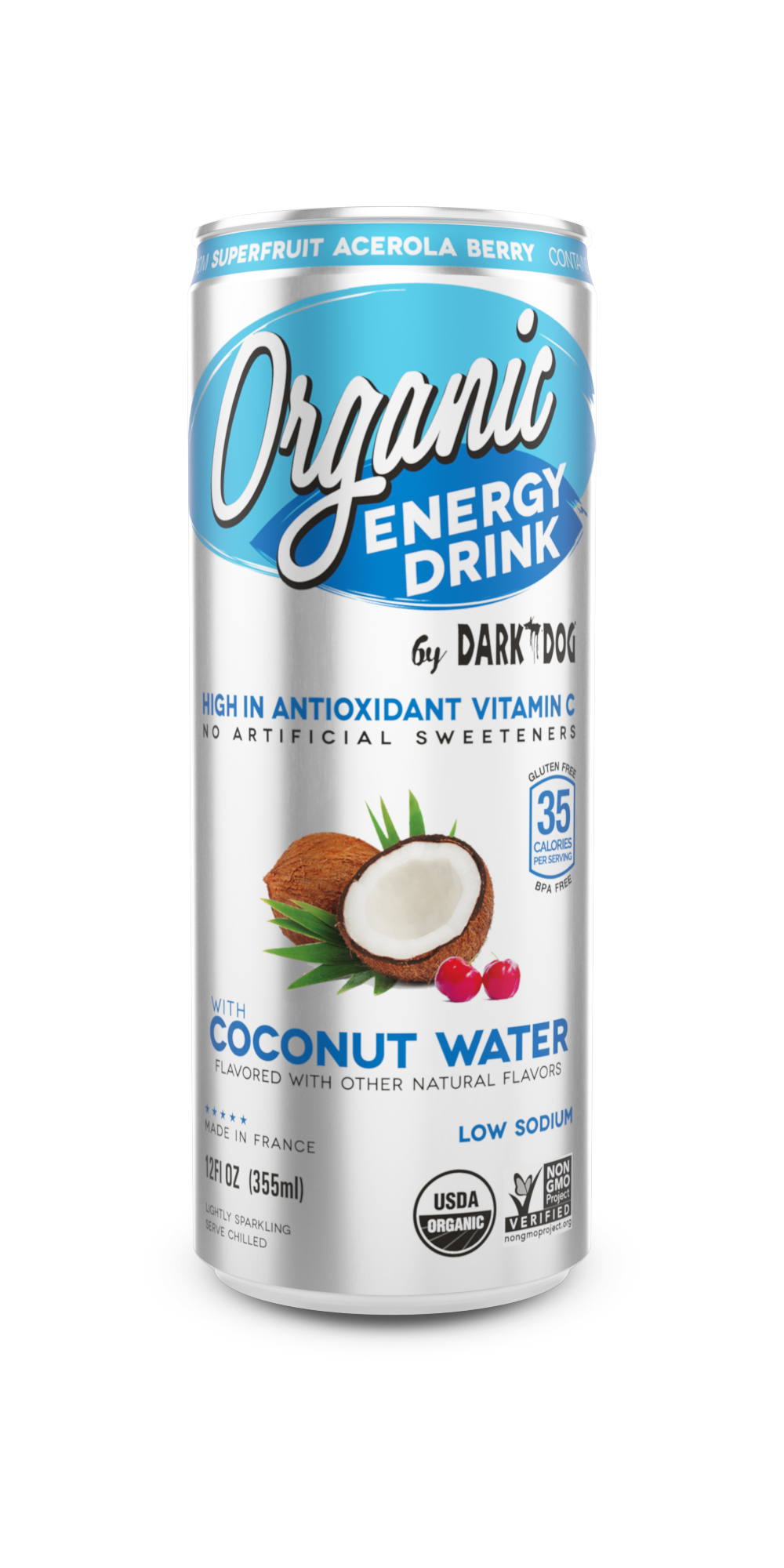 Organic Energy Drink W/ Coconut Water