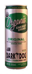 Dark Dog Organic Energy Drink: DarkDog Original Front