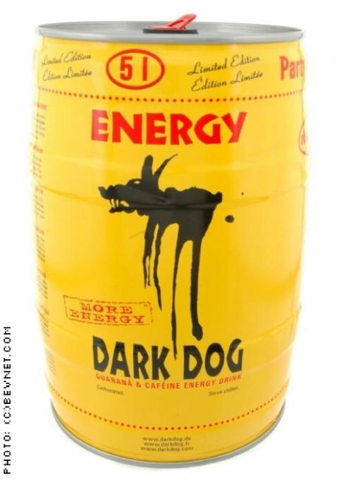 Dark Dog Energy Drink: Keg