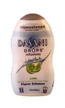 Dasani Drops Flavor Enhancer: DasaniDrops Lime Front