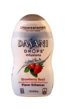 Dasani Drops Flavor Enhancer: DasaniDrops StrawberryBasil Front