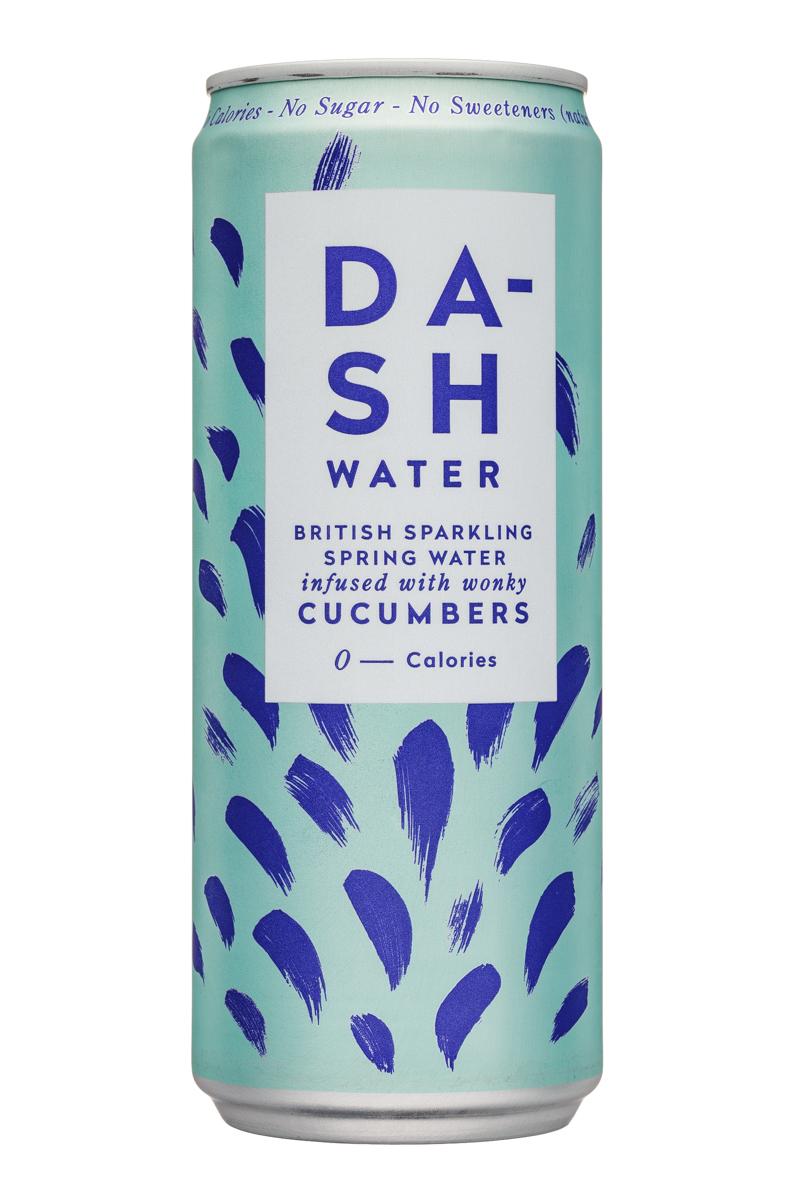 Dash Water: DashWater-Water-Cucumbers-Front