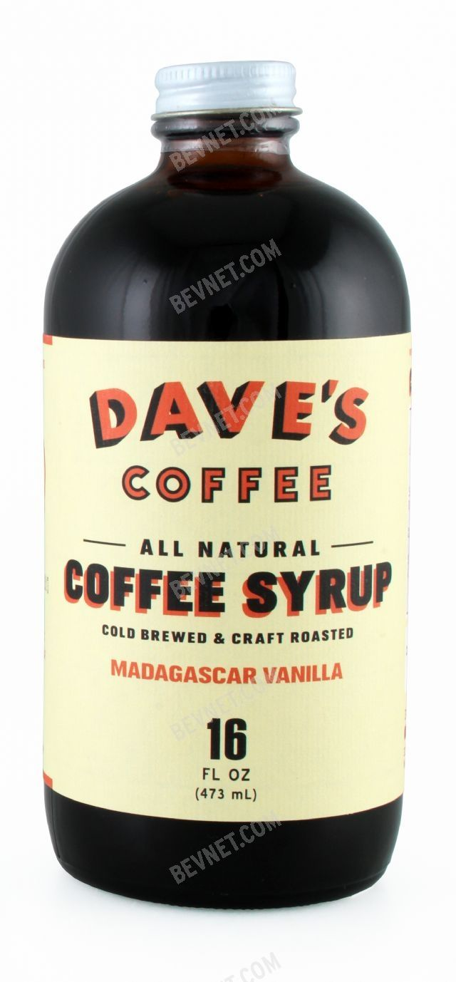 Dave's All Natural Coffee Syrup: