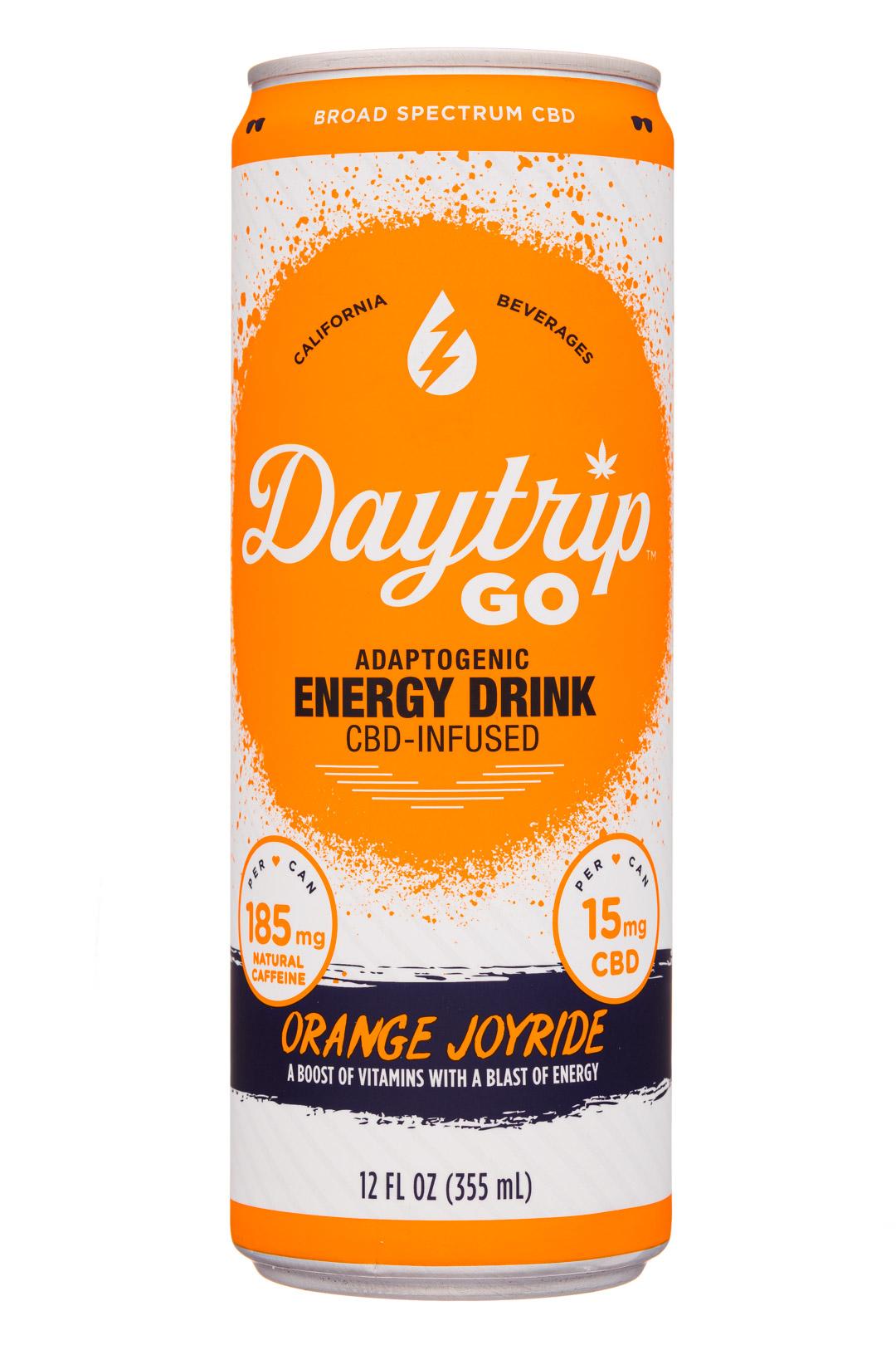 Orange Joyride - Hemp-Infused Functional Energy Drink