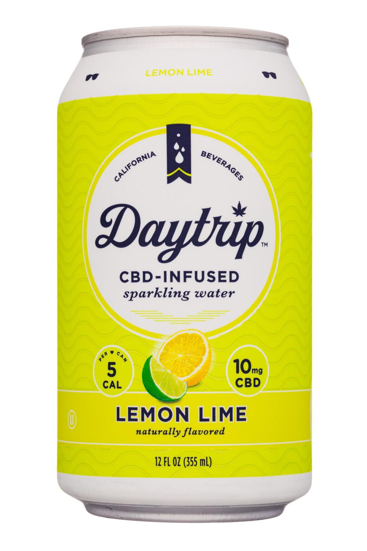 Daytrip: Daytrip-12oz-CBDSparklingWater-LemonLime-Front