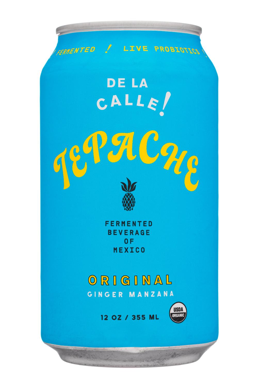 De La Calle!: Tepache-12oz-2020-FermBev-Original-Front